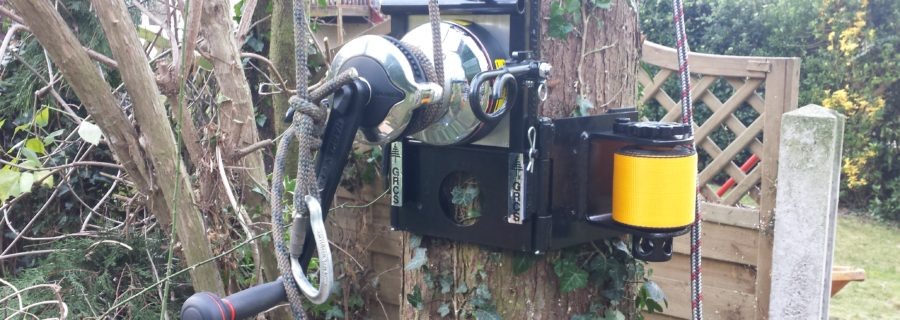 T H Tree Services New Grcs Lowering Winch Tree Surgeons