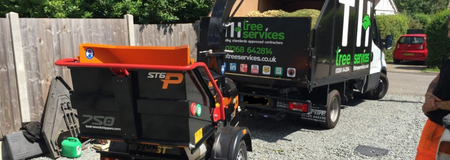 Forst ST6p Petrol Wood chipper (4)